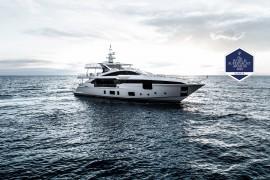 Azimut Grande 35metri sul podio ai World Superyacht Awards 2018