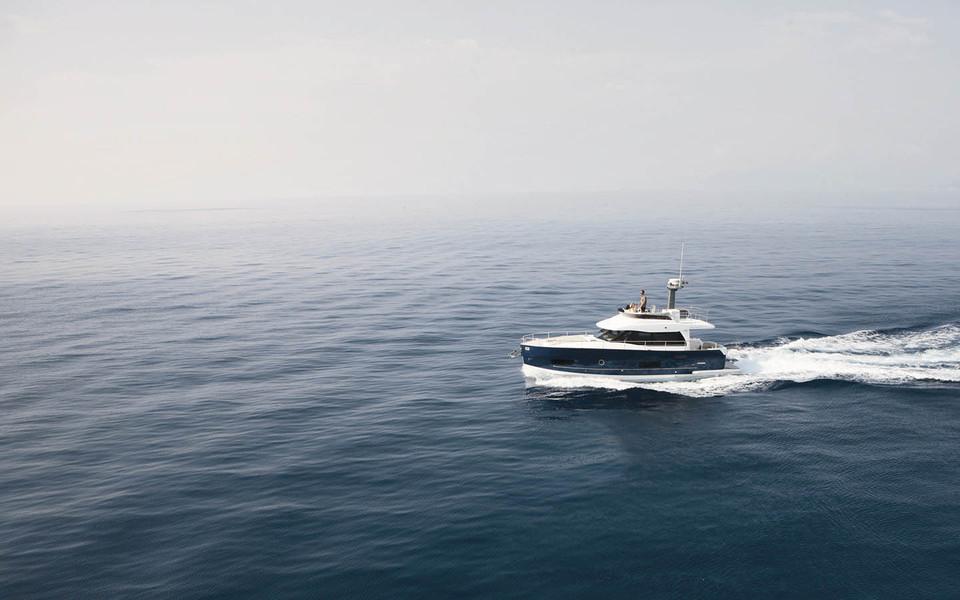 The Italian long range yacht